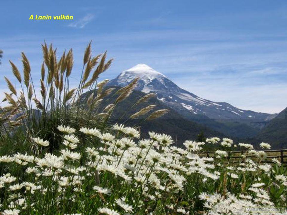 A Lanin vulkán