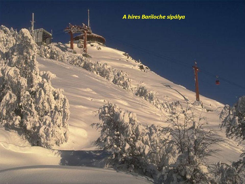 A híres Bariloche sípálya