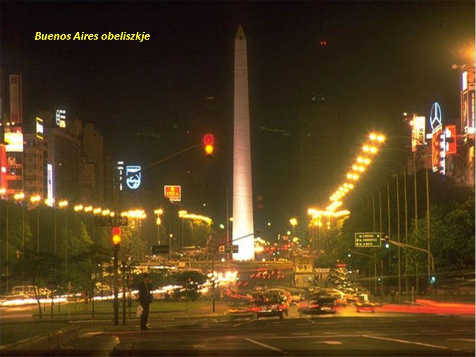 Buenos Aires obeliszkje