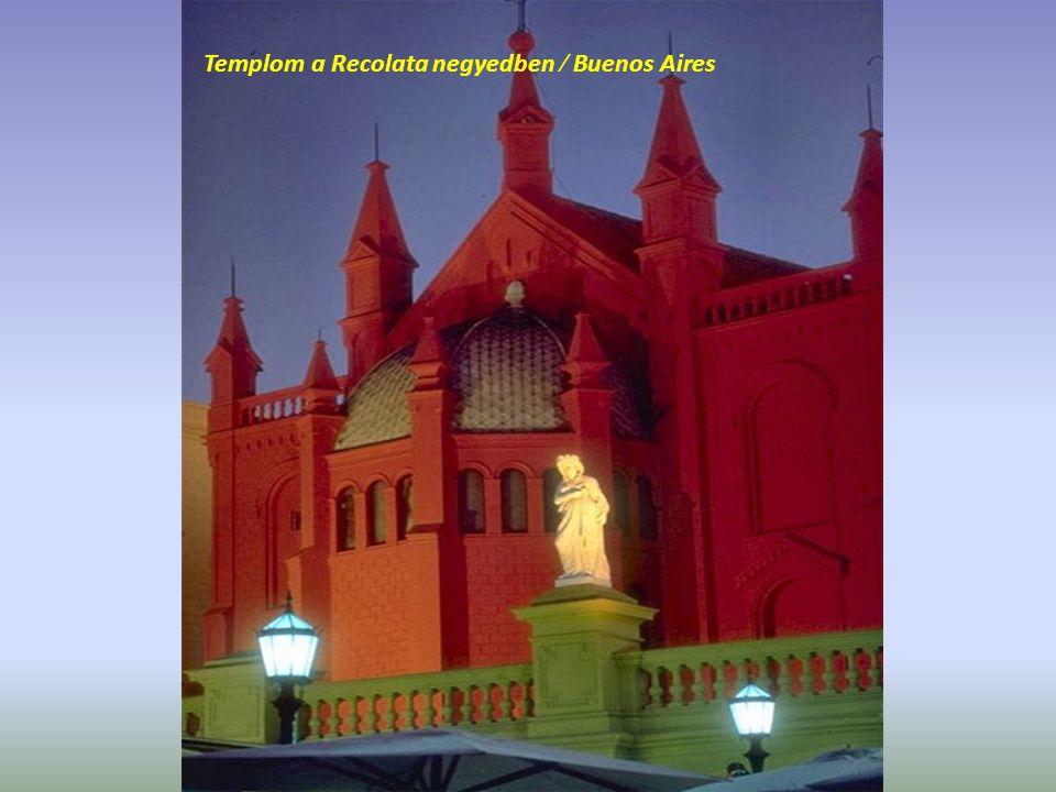 Templom a Recolata negyedben / Buenos Aires