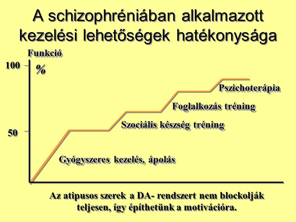 A schizophréniában alkalmazott kezelési lehetőségek hatékonysága