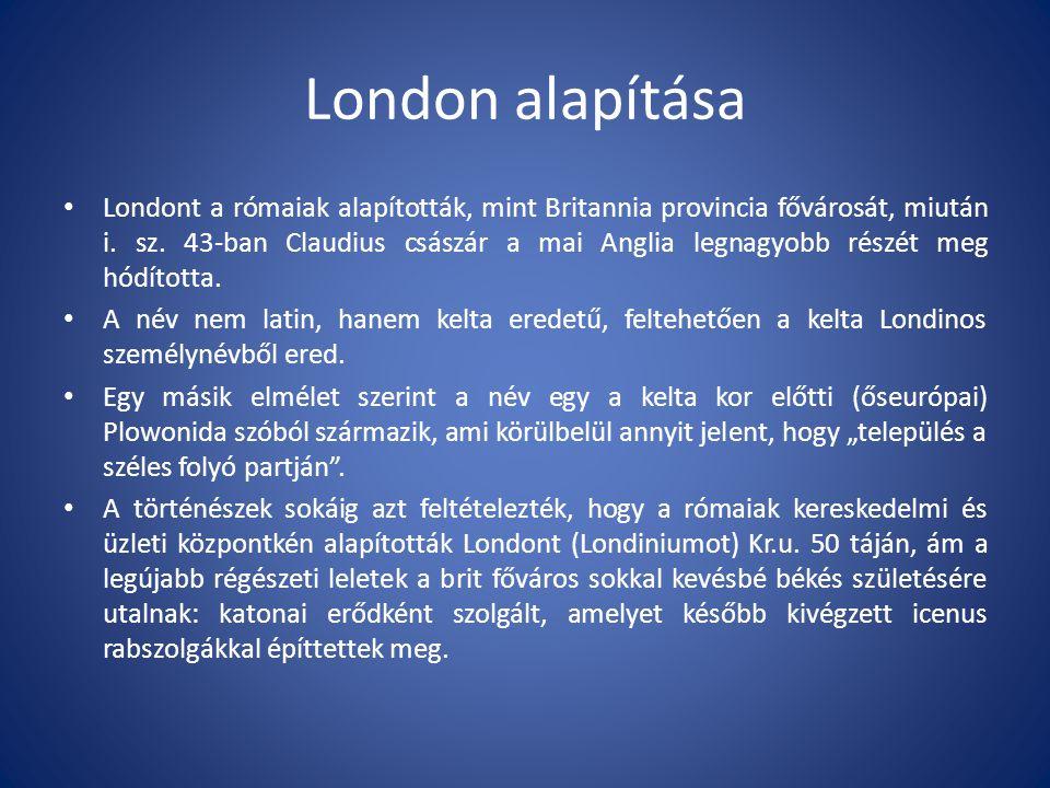London alapítása