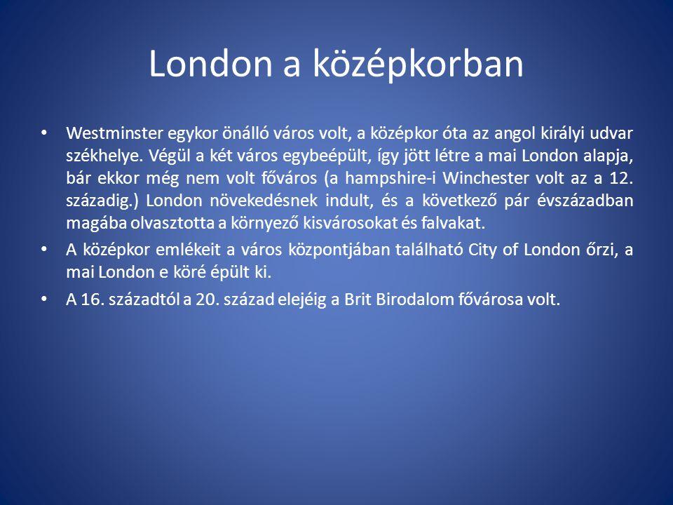 London a középkorban