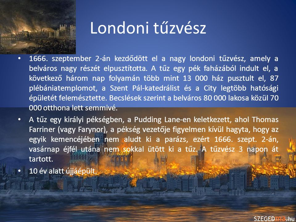 Londoni tűzvész