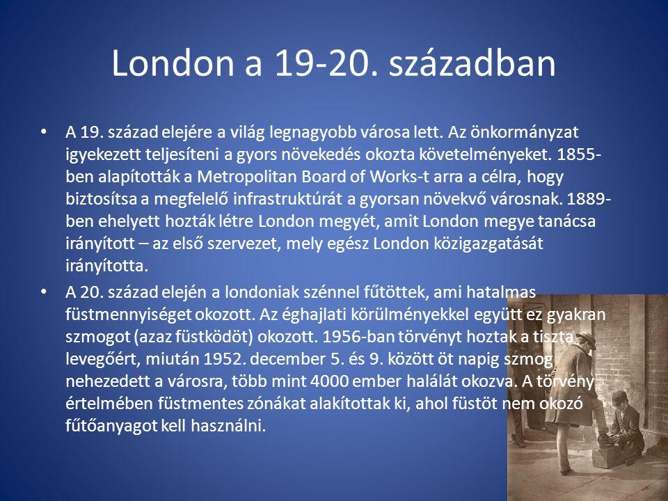 London a 19-20. században
