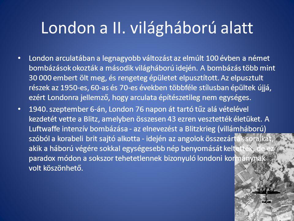 London a II. világháború alatt