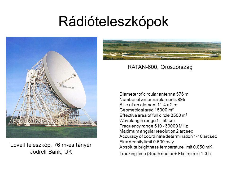 Lovell teleszkóp, 76 m-es tányér