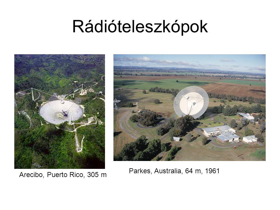 Rádióteleszkópok Parkes, Australia, 64 m, 1961