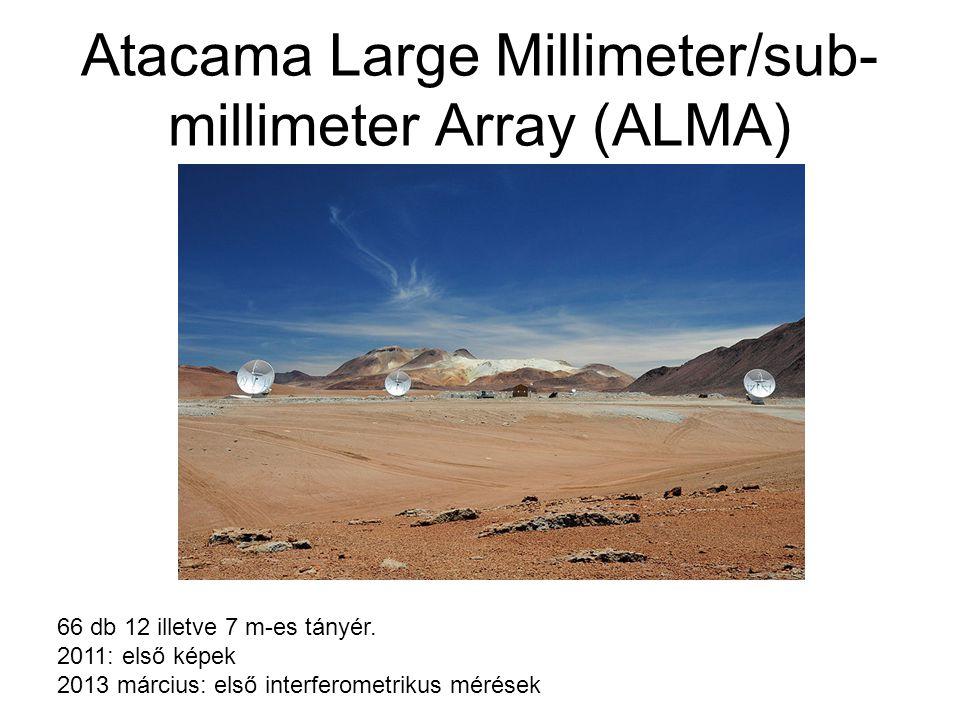 Atacama Large Millimeter/sub-millimeter Array (ALMA)