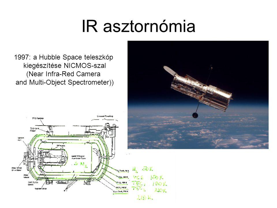 IR asztornómia 1997: a Hubble Space teleszkóp kiegészítése NICMOS-szal