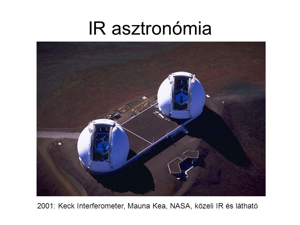 IR asztronómia 2001: Keck Interferometer, Mauna Kea, NASA, közeli IR és látható