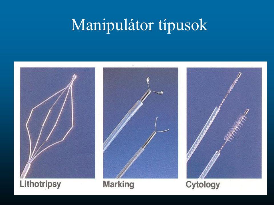 Manipulátor típusok