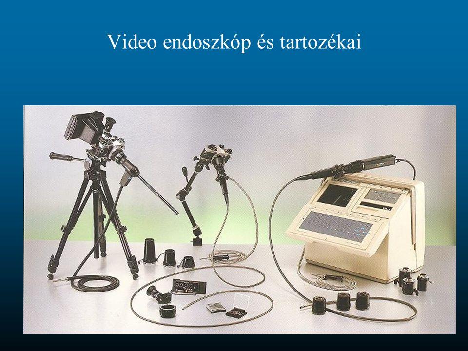 Video endoszkóp és tartozékai