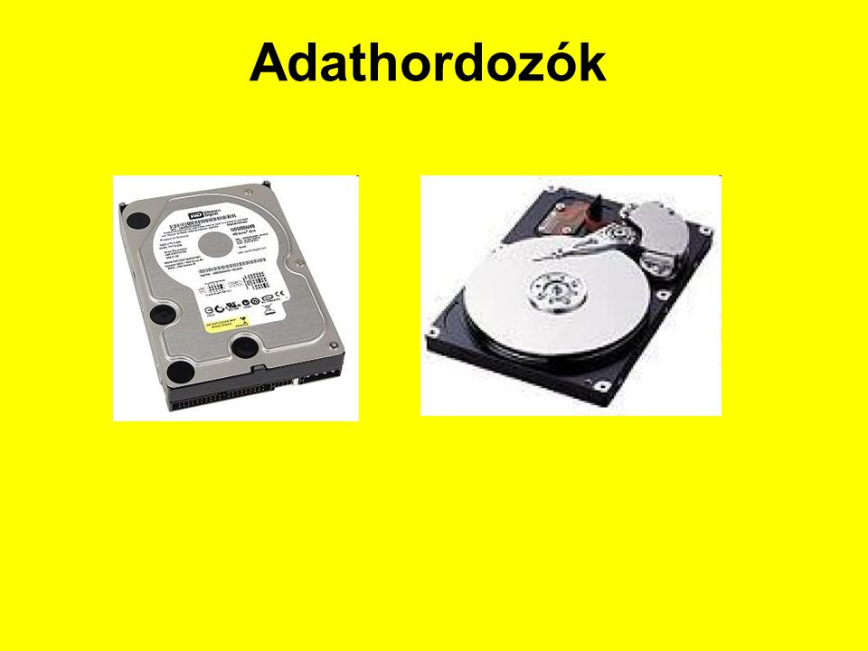 Adathordozók