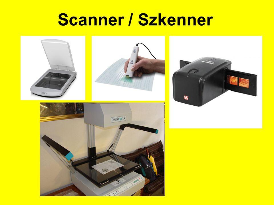 Scanner / Szkenner
