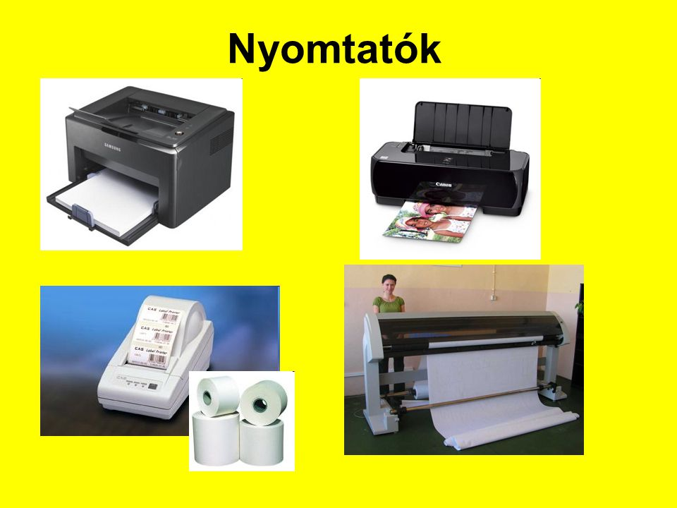 Nyomtatók