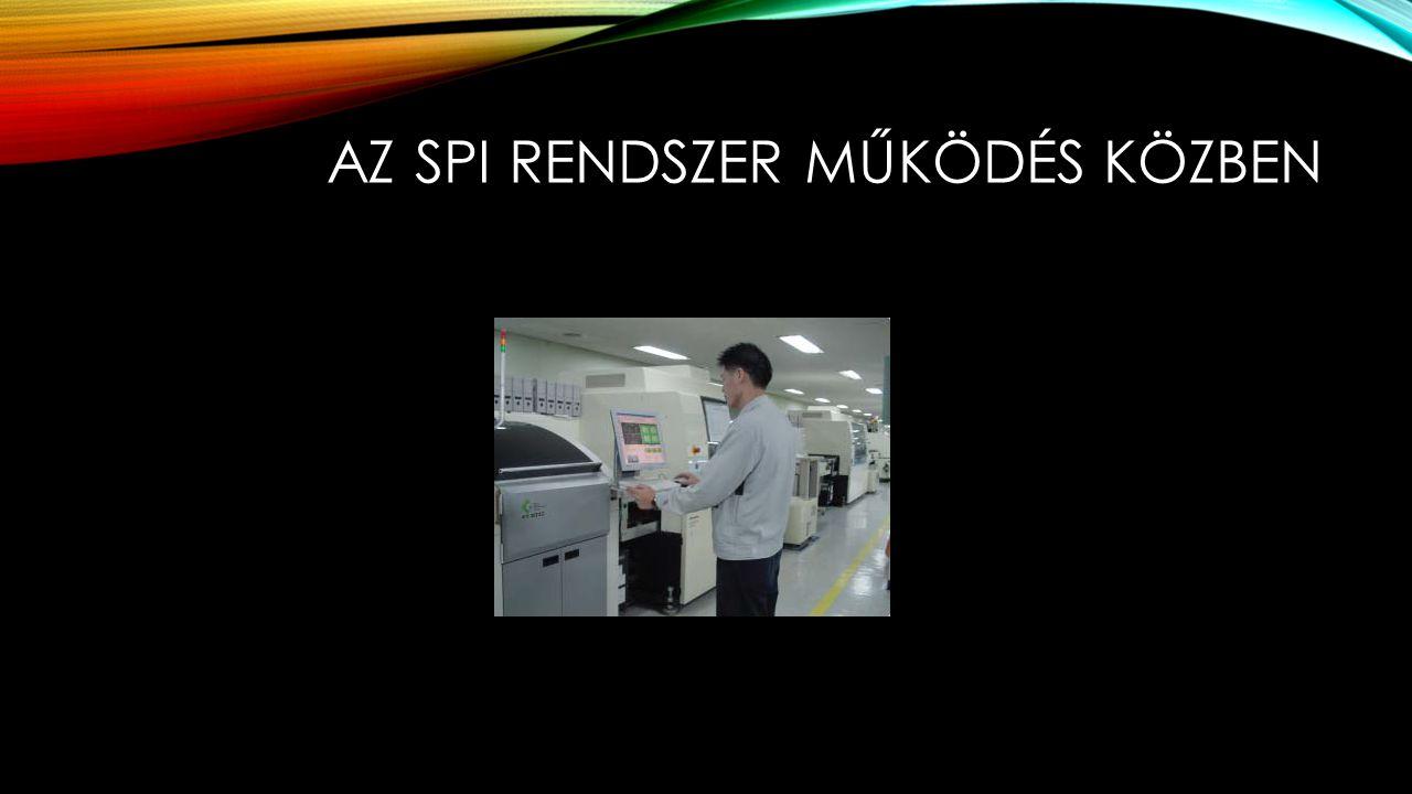 Az SPI rendszer működés közben