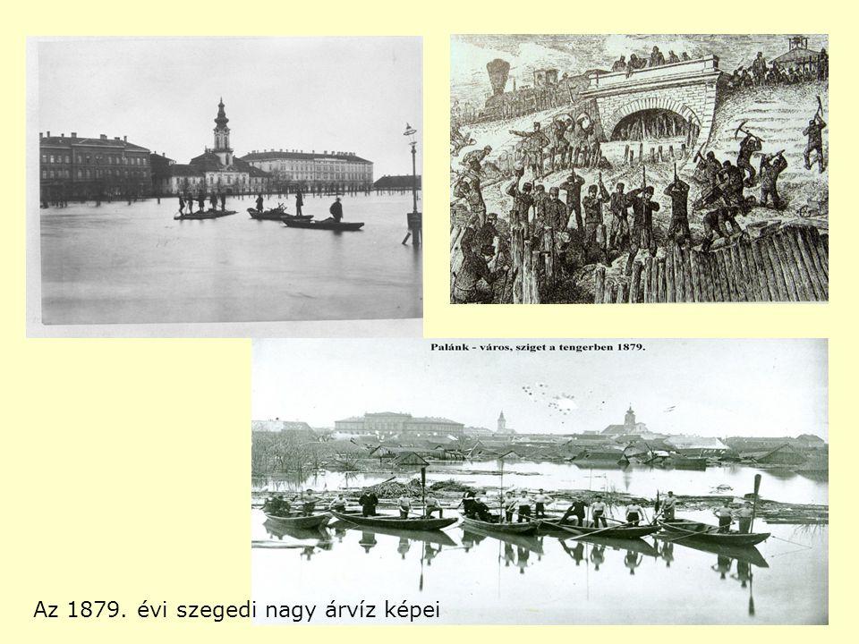 Az 1879. évi szegedi nagy árvíz képei