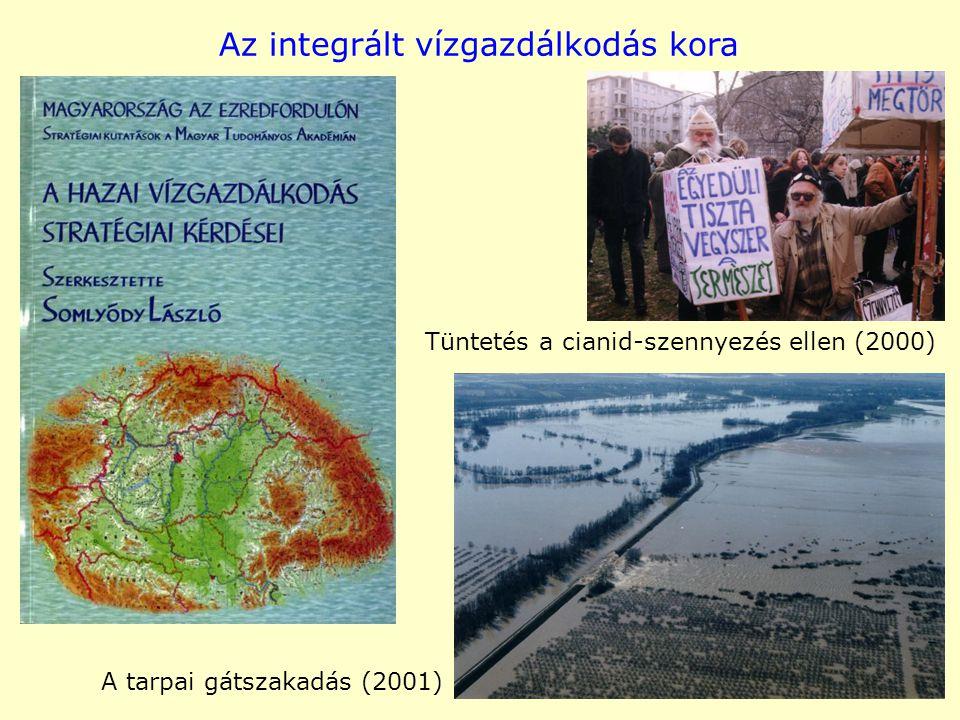 Az integrált vízgazdálkodás kora