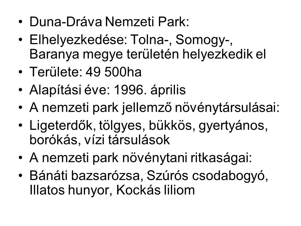 Duna-Dráva Nemzeti Park: