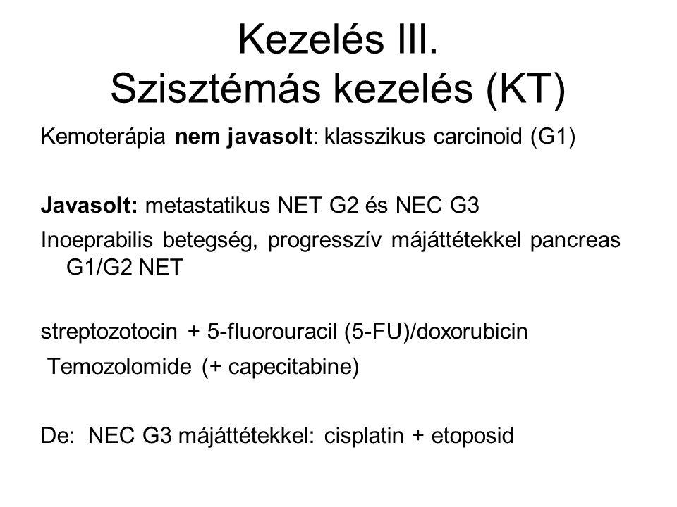 Kezelés III. Szisztémás kezelés (KT)
