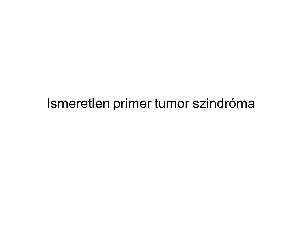 Ismeretlen primer tumor szindróma