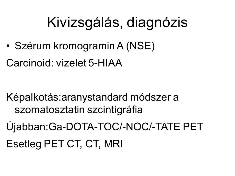 Kivizsgálás, diagnózis