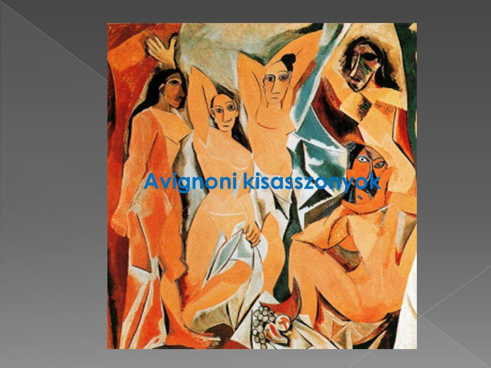Primitivista időszak Avignoni kisasszonyok