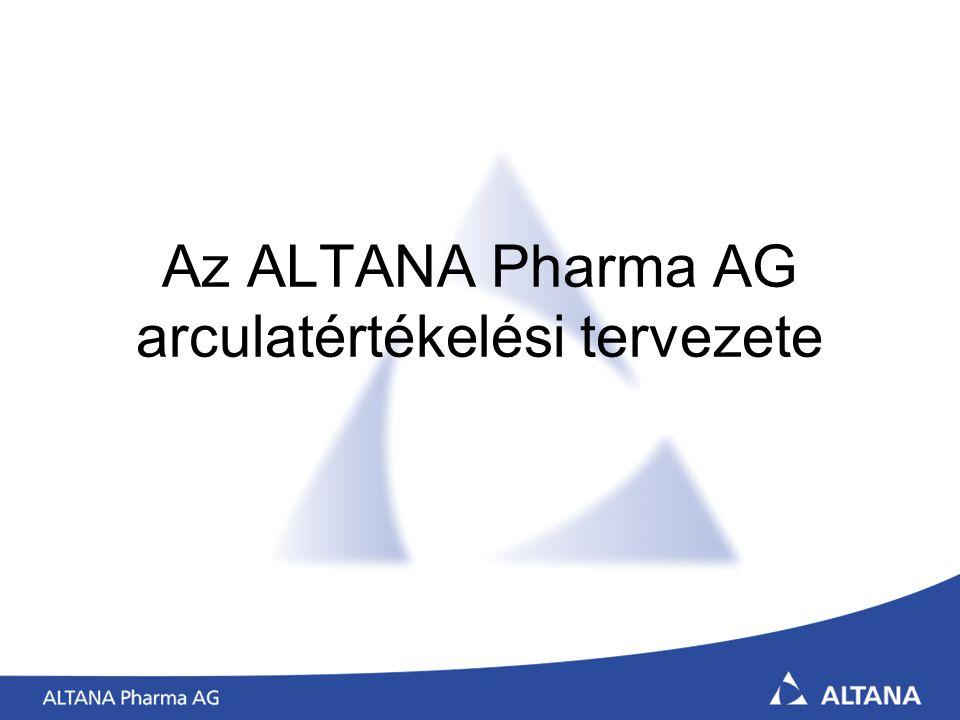 Az ALTANA Pharma AG arculatértékelési tervezete