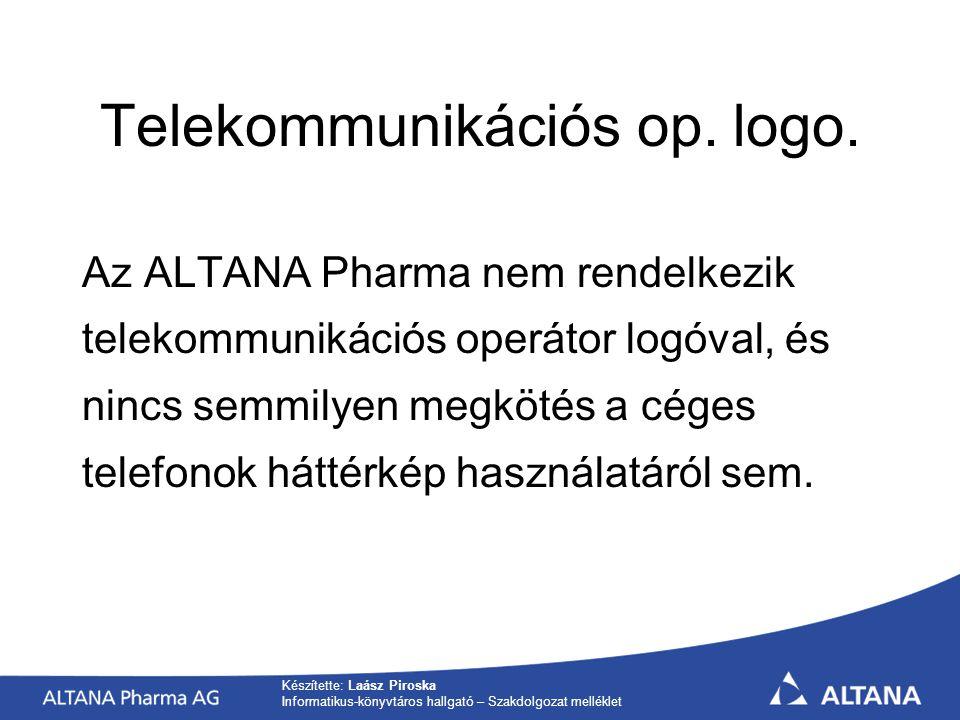 Telekommunikációs op. logo.