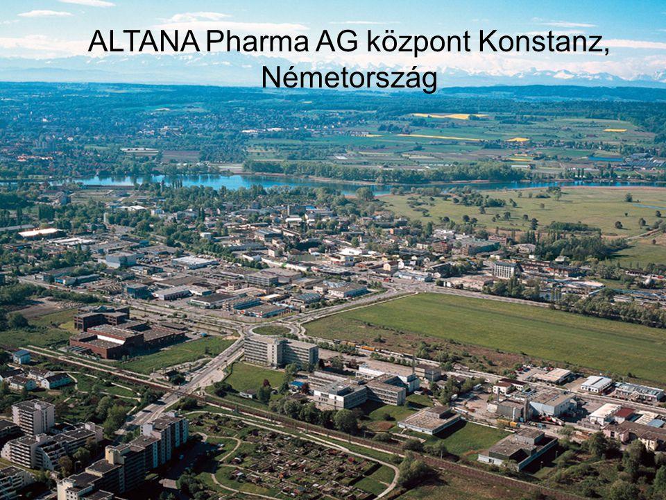 ALTANA Pharma AG központ Konstanz, Németország