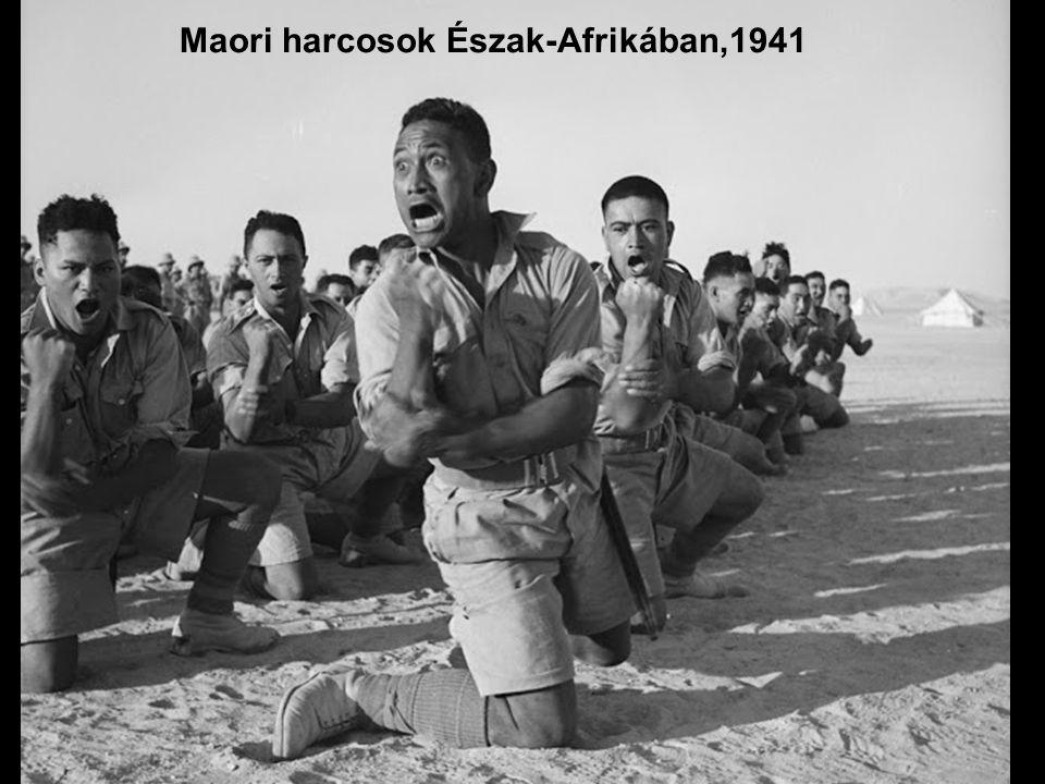 Maori harcosok Észak-Afrikában,1941