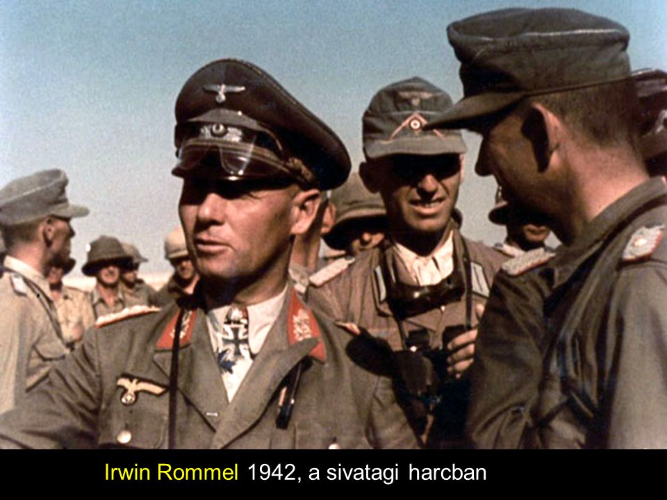 Irwin Rommel 1942, a sivatagi harcban