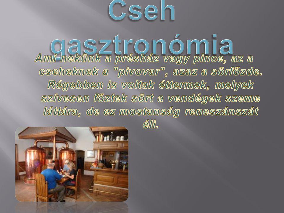 Cseh gasztronómia