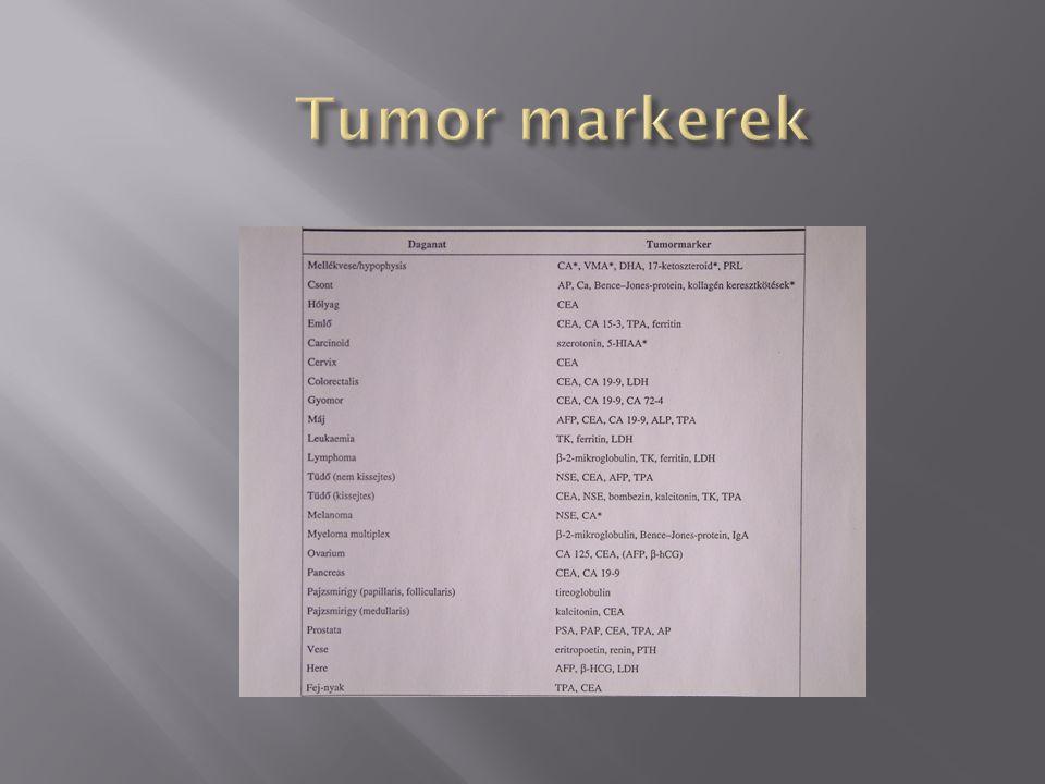 Tumor markerek