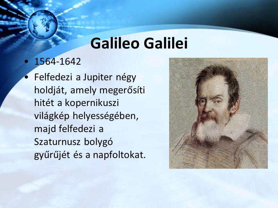 Galileo Galilei 1564-1642.