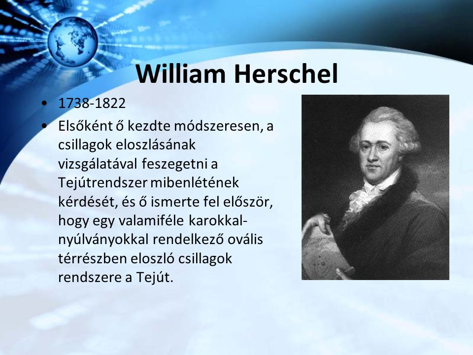 William Herschel 1738-1822.