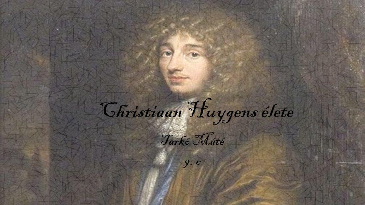 Christiaan Huygens élete