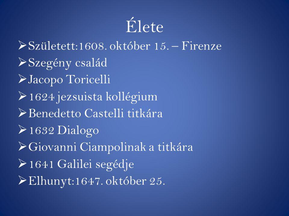 Élete Született:1608. október 15. – Firenze Szegény család