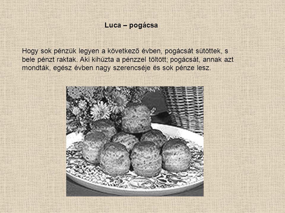 Luca – pogácsa