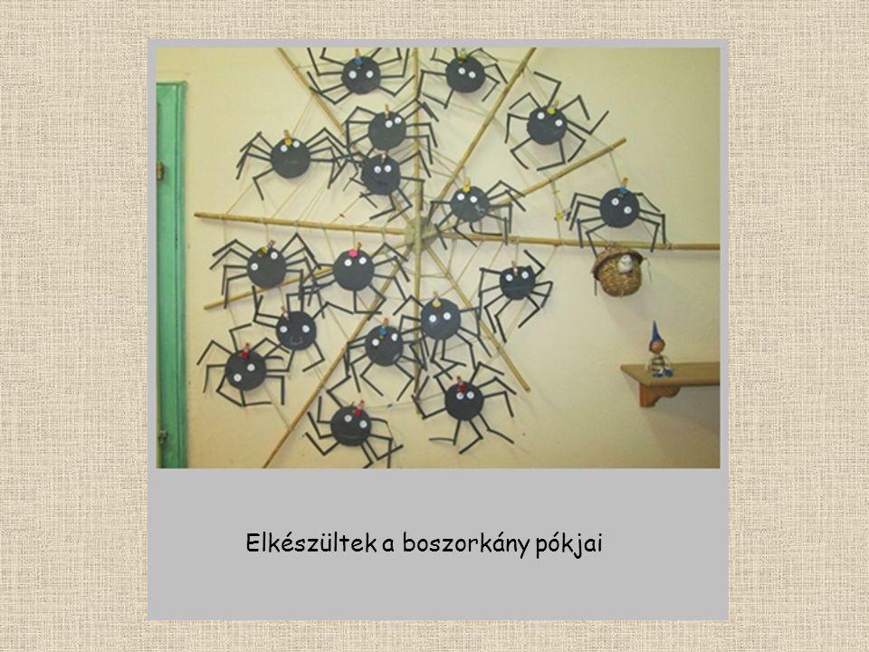 Elkészültek a boszorkány pókjai