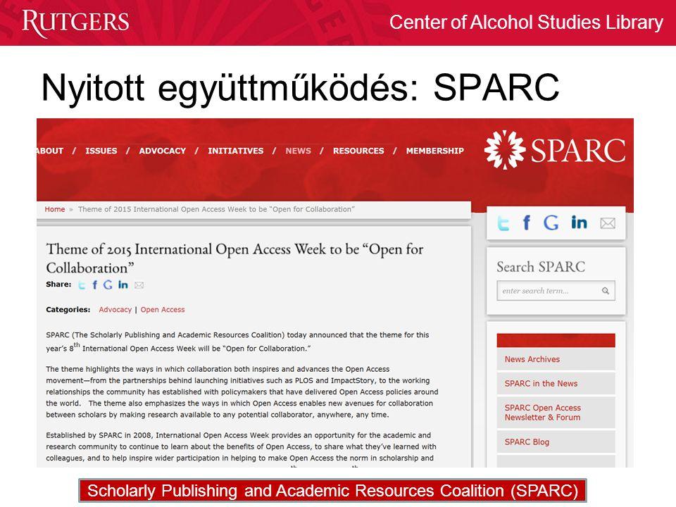 Nyitott együttműködés: SPARC