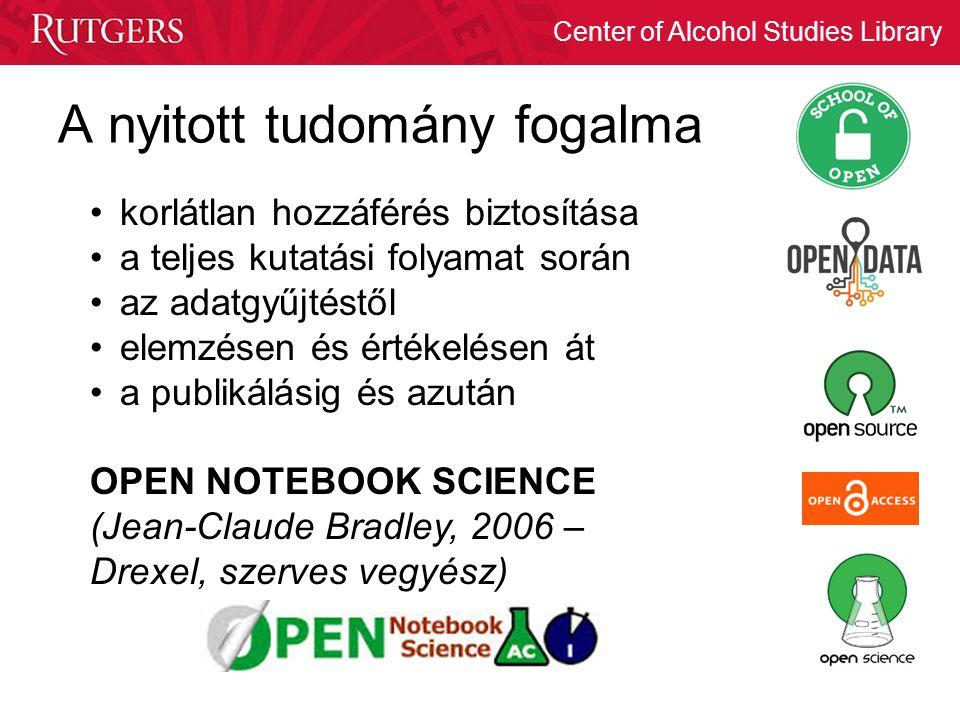 A nyitott tudomány fogalma