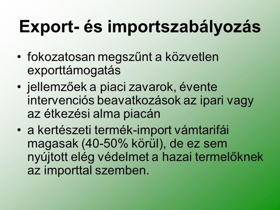 Export- és importszabályozás