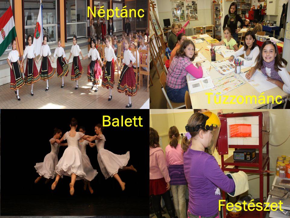 Néptánc Tűzzománc Balett észet Festészet