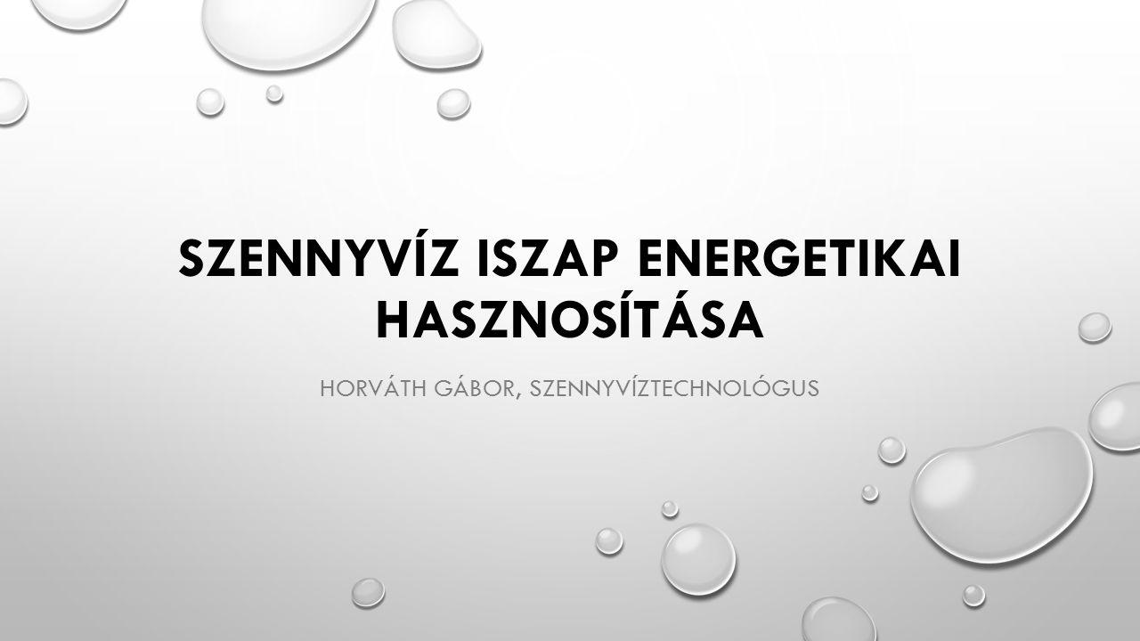 Szennyvíz iszap energetikai hasznosítása