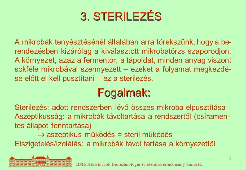 3. STERILEZÉS