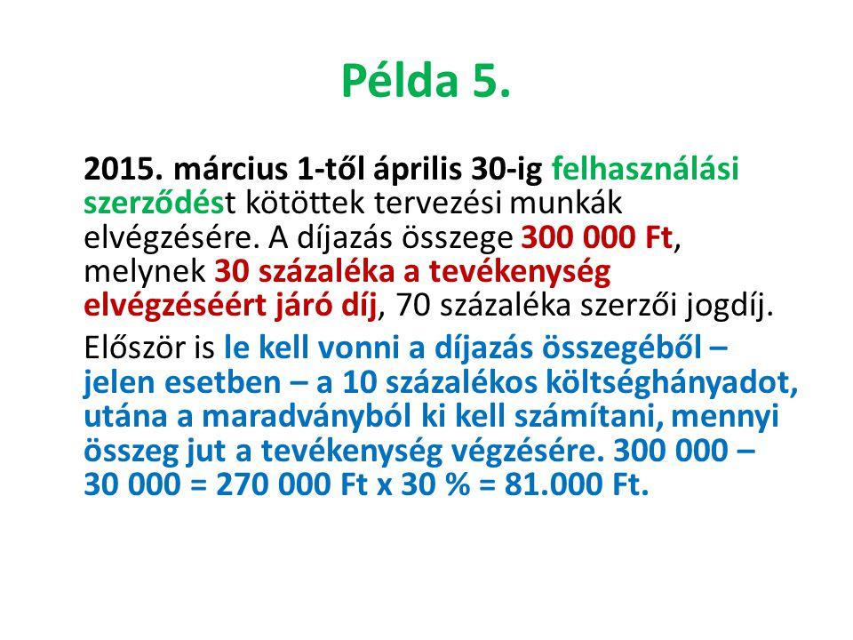 Példa 5.