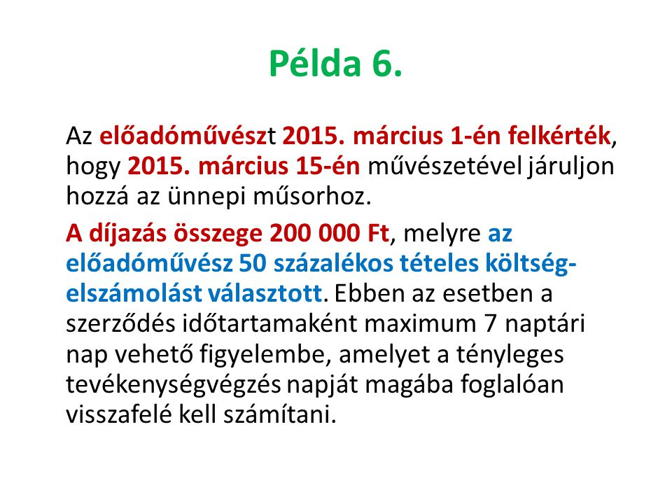Példa 6.