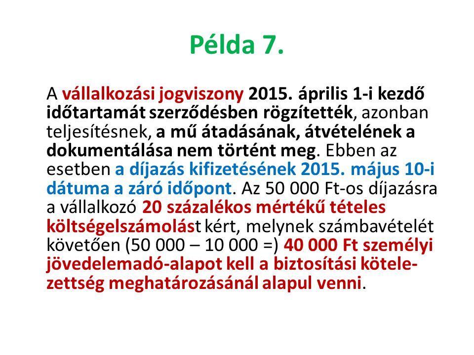 Példa 7.